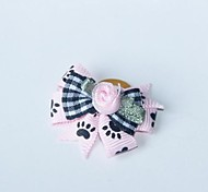 Dog Hair Accessories / Hair Bow Pink Spring/Fall Cosplay