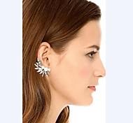 Fashion Three Pearls Silver Alloy Ear Cuffs(1 Pc)