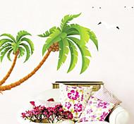 casa da árvore decoração da parede adesivos de parede decalque jiubai ™