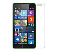 dengpin alta definición hd clara pantalla invisible película del protector del protector para Nokia Lumia 535 microsoft