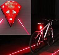 Iluminación Linternas de Cabeza / Luces para bicicleta / Láser LED 60 Lumens Modo - 14500 A Prueba de Agua / Recargable