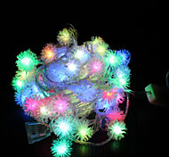 1M 10-LED Babysbreath Shape Colorful Light Lamp for Christmas Decoration