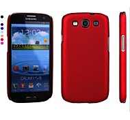 Pajiatu Hard Mobile Phone Back Cover Case Shell for Samsung GALAXY S3 I9300 (Assorted Colors)