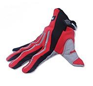 cortavientos transpirable moto de carreras dedo lleno de deportes de protección de guantes moto guantes teléfono táctil
