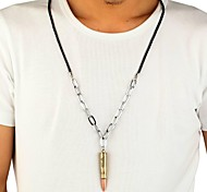 Fashion Bullet Alloy Necklace Christmas Gifts