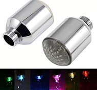 8002-a20 corriente de agua con estilo colorido luminoso luz del grifo de luz LED (de cobre)