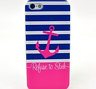 Pink Anchor to Sink Pattern Hard Case Cove for iPhone 6