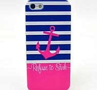 anchor rosa di affondare modello cassa della baia duro per iPhone 6