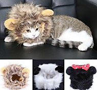 Cat Bandanas & Hats Black / White / Brown Winter Cosplay-Doglemi