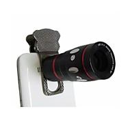 Universal 4-in-1 180° Fisheye 0.67X Wide Angle Macro 10X Telephoto Lens  for iPhone 6