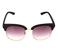 100% UV400 Browline Plastic Fashion Sunglasses