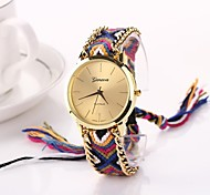 Women Big Circle Dial  National Hand Knitting Brand Luxury Lady Watch C&D-272 Cool Watches Unique Watches Fashion Watch