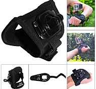 Fat Cat High Comfortable360' Rotary Hand Palm Mount for GoPro Hero4/3/2 / SJ4000/5000 -L Size