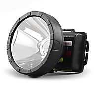 Kang Ming KM-1503 Waterproof Single-mode 1xCree XM-L T6 Rechargeable Headlamp(Black)