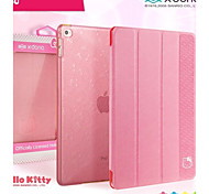 X-Doria Ultra-Thin Transparent Bracket Holster Hello Kitty Smart Case for iPad Air 2(Assorted Color)
