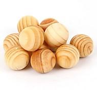 5 Stück natürliche Aromatherapie Holz Schädlingsbekämpfung Motte (gelegentliche Farbe)