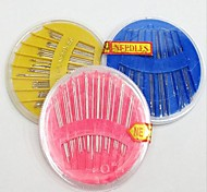 Home Household Sewing Kit Box of Needles Package Disc Needle Handmade Sew-on Needle Diy Tool(Random Color)