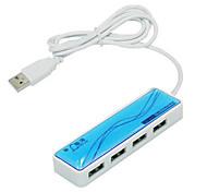 lenvon 4 portas USB de alta velocidade hub 2.0