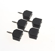 Stereo Converter 3.5mm To 3.5mm Headphone Connector One Point Two (5Pcs)