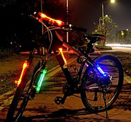 WEST BIKING®Bicicletas LED Light Laser Lamp Warning Riding Safety Installed in Anywhere Cycling Lights