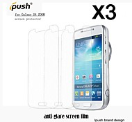 High Transparency Matte LCD Screen Protector with Cleaning Cloth for Samsung Galaxy S4 Zoom (3 Pieces)