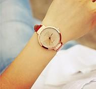 circular relógio de quartzo rotativo mesa moda feminina (cores sortidas)