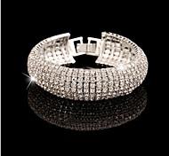 Noble Luxurious Diamond Cuff Bracelets