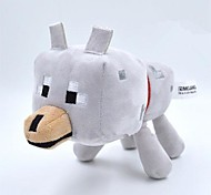 Minecraft Baby 22cm Wolf Animal Plush Toy Doll