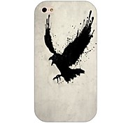 Black Hawk Pattern Back Case for iPhone 4/4S