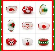 9 Style Christmas Beads for Christmas Gift