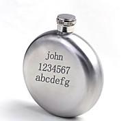 personalisiertes Geschenk, 5 Unzen Silber Edelstahlflasche