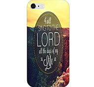 Sing of The Lord Pattern Back Case for iPhone 6