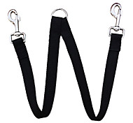 Cody Nylon double chain Leashes for Pets Dogs