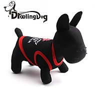 DroolingDog® Lovely Red Lips Pattern 100% Cotton Vest for Dogs (Assorted  Colors Assorted Sizes)