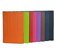 10.1 Inch Triple Folding Pattern High Quality PU Leather Case for Sony Xperia Z2 Tablet