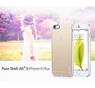 GGMM® Pure Shell-A6+ Dustproof Clear Gel Protective Case for iPhone 6 Plus(Assorted Color)
