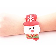 pulseira natal boneco de neve