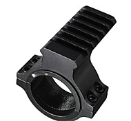 LS075 25mm Ring Scope Flashlight Laser Tube Picatinny Rail Mount Adapter