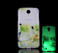For Samsung Galaxy Case Glow in the Dark / Pattern Case Back Cover Case Cartoon PC Samsung S4 Mini