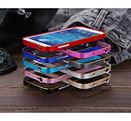 Luphie No Screw Dual-Color Aluminium Bumper Frame for Samsung Galaxy S4 I9500 (Assorted Colors)