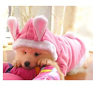 Dog Coats / Sweaters / Hoodies - S / M / L / XL - Spring/Fall - Pink - Cosplay - Cotton / Fleece