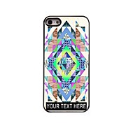 Personalized Phone Case - Retro Design Metal Case for iPhone 5/5S