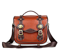 KRO 17-Reddish Brown Camera Bag for Canon 5D2 5D3 60D 7D Nikon D90 D7000 Sony PENTAX[M Size]