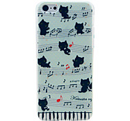 Music Cat Pattern Hard Case for iPhone 6