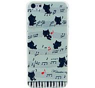 Musik-Katze-Muster Hülle für das iPhone 6