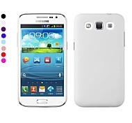 Für Samsung Galaxy Hülle Mattiert Hülle Rückseitenabdeckung Hülle Einheitliche Farbe PC Samsung Win