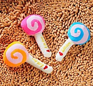 Pet Plush Toys Sound Lollipop for Dogs (Random Colors)