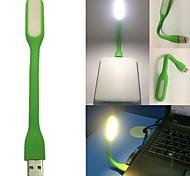 USB portable vert Mini LED lampe flexible lumière