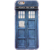 Police Box Design Hard Case for iPhone 6 Plus