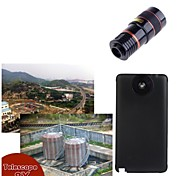 apexel lente del telescopio 8x zoom óptico de enfoque manual con estuche rígido para Samsung Galaxy Note 4